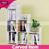 storage shelf with book or flower,Modern bookcase Cabinet Style mini storage rack,home Storage rack &Organizer cube book shelf