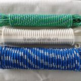 Hot sale 6mm nylon braided rope with factory price