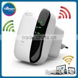 Wireless-N Wifi Repeater 802.11n/b/g Network Wi Fi Routers 300Mbps Range Expander Signal Booster Extender WIFI Ap Wps Encryption