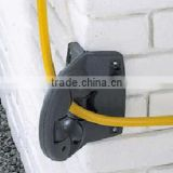 Plastic wall mounted universal hose pipe guide