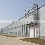Newest economic light design steel structure factory pre engineered steel structure in project