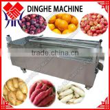 Cheap price fruit and vegetable washing machine/brush type washer/peanut washing machine/potato washing machine