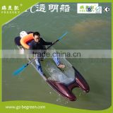 new design wholesale eclectic sea pedal jet powered kayak for sale