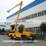 chengli right hand drive 170HP 18m to 22m aerial platform truck for sale