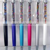 new fashional metal touch crystal diamond new ball pen/promotional ball pen/shining ball pen