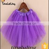 brand new 100 polyester girls dance wear skirts children ballet tutus baby tulle fabric tutu