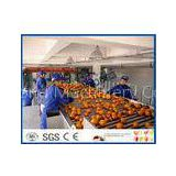 Fruit Juice Processing Equipment With Citrus / Tangerines / Orange Juice Extractor Machine