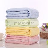 Summer Breathable Cotton Sleeping Blanket Hole Wrap Swaddling Blankets baby cotton knit bath blanket