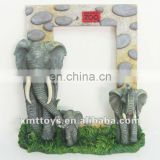 festival photo frame with elephant statue