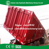 LIBA Rear Dump Trailer Cheap Price 3 Axle Factory Supply 50 ton Rear Tipper Trailer