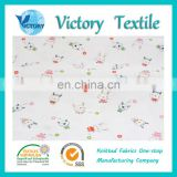 Knitted Printed Interlock Fabric made of 100% Cotton suitable for home textile