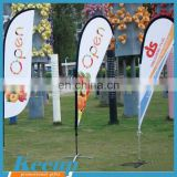 High quality promotional fabric digital printing banner for ads