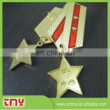 Hot Sale High Quality Cheap Price Star Shape Metal Lapel Pin Manufacturer from China