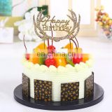 Newest rhinestone charm birthday cake ornament cake decorating tools