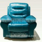 Foshan Furniture Supply Recliner Comfortable Luxury Leather Sofa