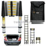 3.2m New Telescopic Ladder Extendable Extension 10 Steps Aluminium