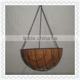 2014 hot sale hanging wire plant baskets