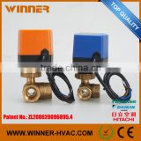 Electric Brass Motorized Modulating Control Valve with Positioner
