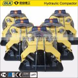 DLK Hydraulic vibrating plate compactor, vibro plate compactor, vibratory compactor suit for all excavator