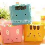 Animals Canvas Thermal Lunch Bag Portable Insulated Food Picnic Lunch Bags Cooler Lunch Box Bag Tote