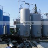 selling automatic diesel oil recycling machine, crude oil to diesel tire oil distillation unit