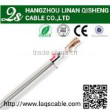 factory outlet approve RoHS,CE,ISO9002 coaxial cable rg59 with power line applied in CCTV