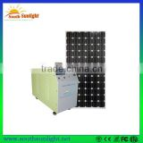 China cheapest wholesale price of 130W solar module system/1kw off grid solar system/solar racking system