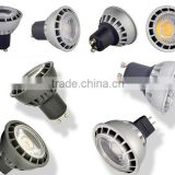 3W 4W 5W 220V 110V 12V High Power Spot Light Lamp E27 GU5.3 MR16 GU10 LED Bulb Spotlight