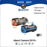 Latest waterproof full hd1080p night vision WiFi sj4000 helmet sport action camera                                                                         Quality Choice