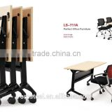 Top quality hot sale office furniture stainless steel metal training table from China manufacturer