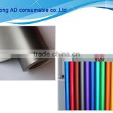 Hot sales Matt chrome car body wrap silver car wrap vinyl car decoration vinyl sticker with great price