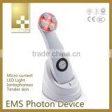 Wrinkle Removal 2014 Multifunctional Beauty No Pain Machine Iontophoresis Machine EMS Beauty Equipment