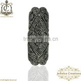 925 Sterling Silver Diamond Fashion Ring, Full Finger Diamond Pave Ring, Diamond Pave Ring, Silver Jewelry Wholesaler