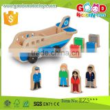EN71/ASTM Certificated Top Quality Baby Toy DIY Wooden Airplane for Imagination Create