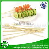 food grade round barbeque bamboo skewers / sticks