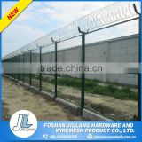 Galvanized and pvc coated high security razor wire prison fence                                                                         Quality Choice