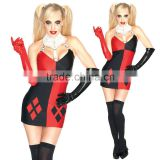 Adults carnival party sexy costume pretty design harley quinn costume BWG-2265