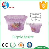 Factory price custom made bicycle accessories front bike baskets for kids