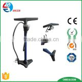 MTB, Road, Hybrid & BMX Bike Tire Pump with Presta & Schrader Valve & Ball Bicycle Floor Air Tire Pressure Guage Pump
