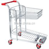 China Manufacturer heavy duty metal Warehouse wheelbarrow