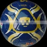 official size and weight hand stitched artificial leather soccer balls