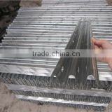 103mm Building U channel Hot dipped Galvanized reinforced concrete brick used Perforated steel lintel for Steel Roofing