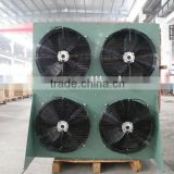 9.6KW YEMOO fin type heat exchanger cold room air cooled condenser for cold room refrigeration unit                                                                         Quality Choice