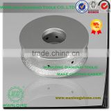high efficiency vacuum brazed diamond custom cnc wheel for glass stone tile grinding and profiling