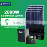 2000W off grid solar panel system,stand alone solar power generator with manufacturer price