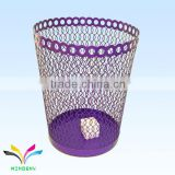 Supermarket hot sale innovative metal corner waste bin