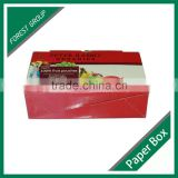 ECOFRIENDLY DECORATIVE CUSTOM MADE COLOR PRINTING FRESH FRUIT PACKING BOX CARDBOARD BOX FOR SHIPPING