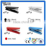 Cute smart white office medium clip paper stapler, promotional plastic office paper stapler