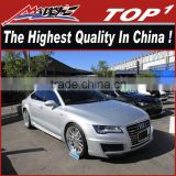 wald body kits for 2012-2016 AUDI a7 the highest quality PU/Carbon Fiber Body Kits for A7