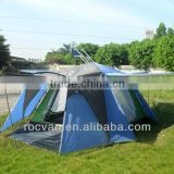 New Style 1 Room 2 Door Big Family Double Layer 4 Person Beach Tent